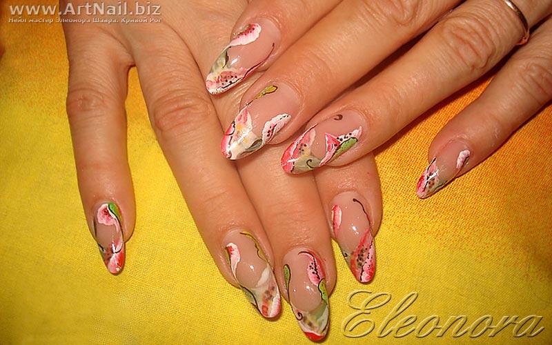 Дизайны на ногтях обучение